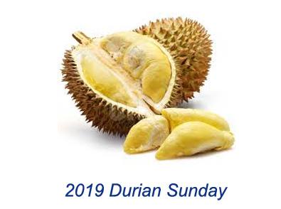 2018 Durian Sunday